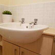 Bathroom sink area 1